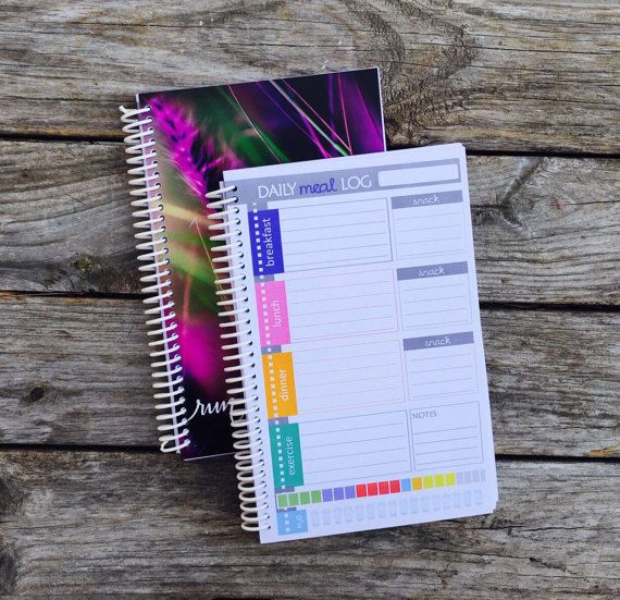UPDATED JOURNAL for 21 days of diet FIX  126 by LoveItStationery