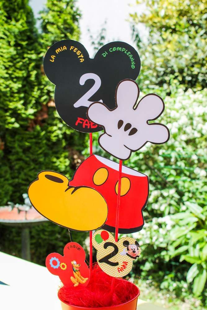 Mickey Mouse Birthday Party Ideas | Photo 1 of 51 | Catch My Party