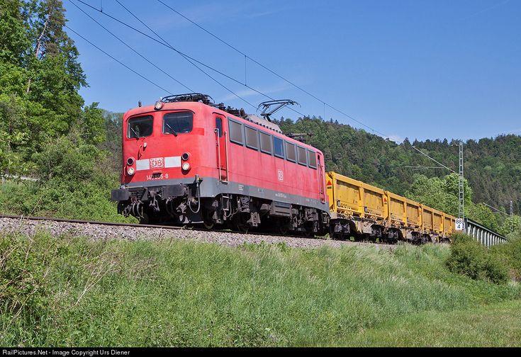 RailPictures.Net Photo: 140 855 DB Fahrwegdienste BR 140 at Neckarhausen, Germany by Urs Diener