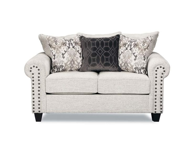 Modern Simmons Upholstery Della Loveseat in Linen 9175BR 02 Della Linen Inspirational - Amazing simmons sofa bed Beautiful