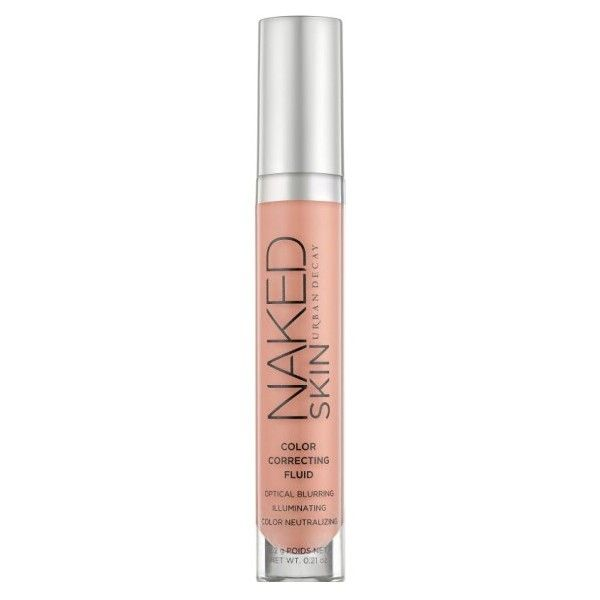 URBAN DECAY Naked Skin Color Correcting Fluid ($30) ❤ liked on Polyvore featuring beauty products, makeup, face makeup, urban decay cosmetics, urban decay makeup and urban decay