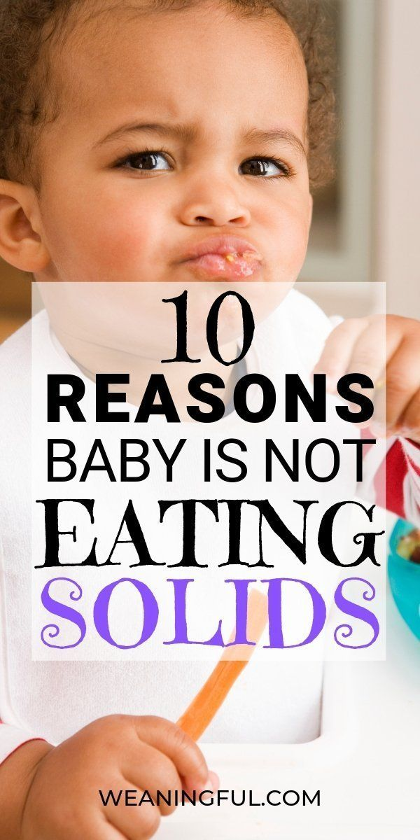 How To Get 10 Month Old To Eat Solids