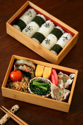 Japanese Bento Boxed Lunch by ivory_bell