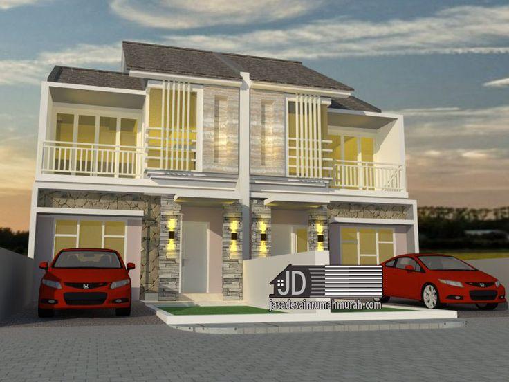 Desain Rumah Modern Tropis Ibu Lidia di Bintaro Jakarta