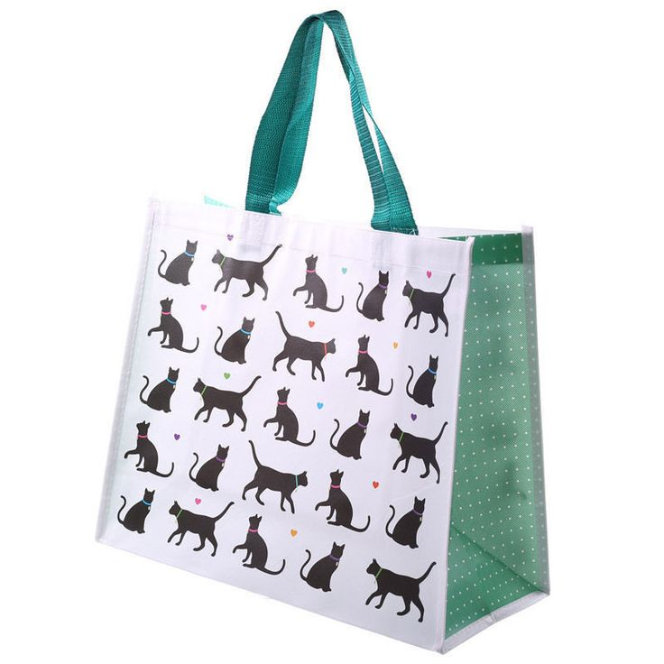 Cat Print shopping/beach/gym/travel bag  | eBay