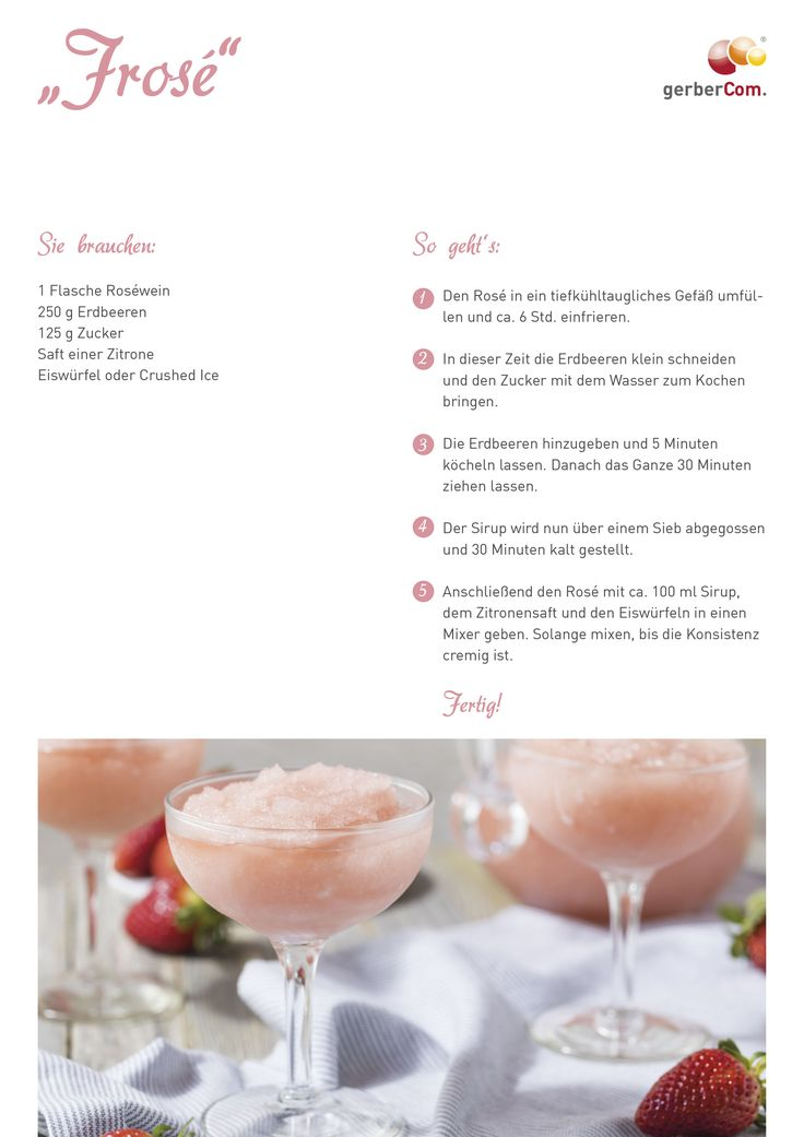 #frosé #rezept #ice #drink #summer