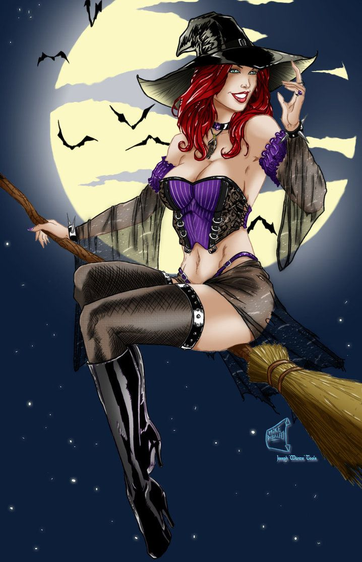 Ugly sexy witch
