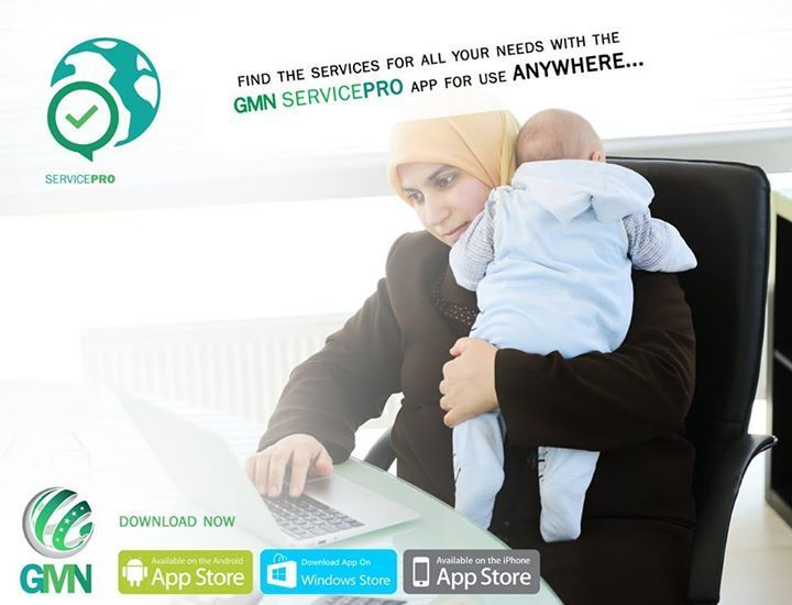 Looking for a local babysitter? Or even a local mechanic? Dentist? Whatever services you're searching, you'll find the best ones on the all new smart-phone app, GMN ServicePro! Download Now! #myGMN #ServicePro