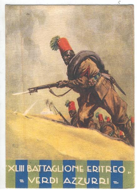 Regio Esercito - Truppe Coloniali - XLIII Battaglione Eritreo