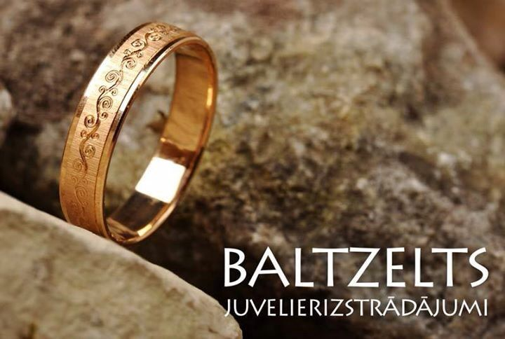 Купив кольцо в Baltzelts, мы верим, что Ваш брак будет длится вечно...
