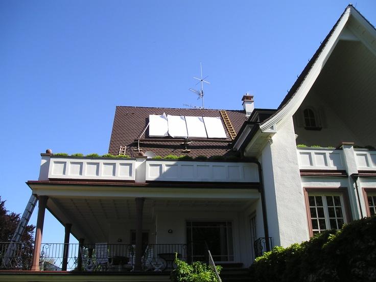 Thermische Solaranlage Weinheim