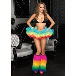 @Overstock - Look sexy in this amazing new Rainbow Organza Tutu. You can match this for costumes, dance wear, and rave attire.http://www.overstock.com/Clothing-Shoes/Rainbow-Organza-Tutu/6338262/product.html?CID=214117 $22.80