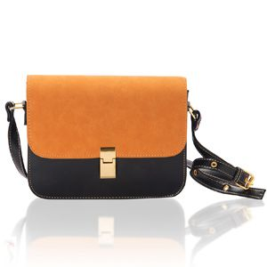 Black & Sandy Brown Cross Body Bag:  Rs 1355/- http://www.tajonline.com/gifts-to-india/gifts-AR5480.html?aff=pinterest2013/