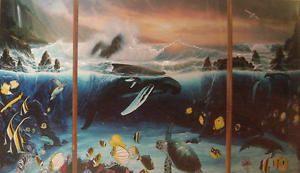 "Robert Wyland ""Ocean Trilogy""   Print      MAKE OFFER"