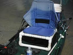 Diy luxe Seat op viskayak