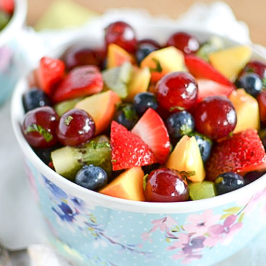 healthy fruit salad dessert furry fruit