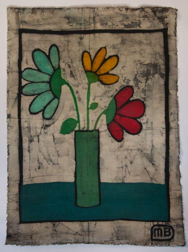 "Batik - size A2; Artist: Irena Buchwald ""Manufacture Buchwald"""