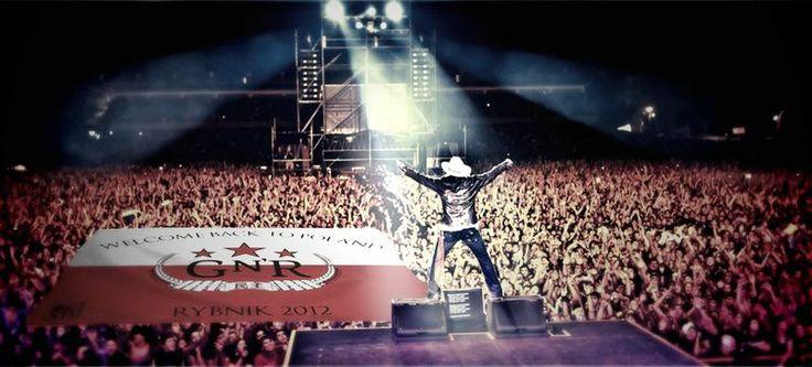 Polak Potrafi :: Finansowanie społecznościowe – ciekawe pomysły i projekty : Flaga na koncert Guns N' Roses 11 lipca w Rybniku. Projekt dowodzi, że polak potrafi! Finansowanie społecznościowe! #crowdfunding #crowdfundingpl