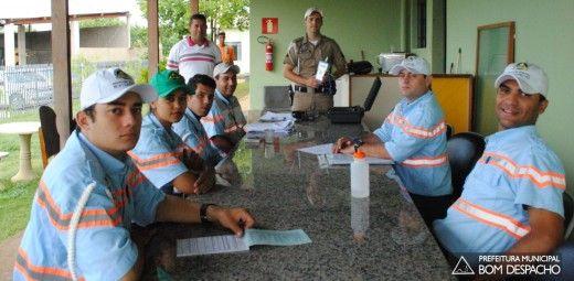 08/04/205 Matheus Dias e Paulo Mattos - curso etilometro em Bom Despacho, MG