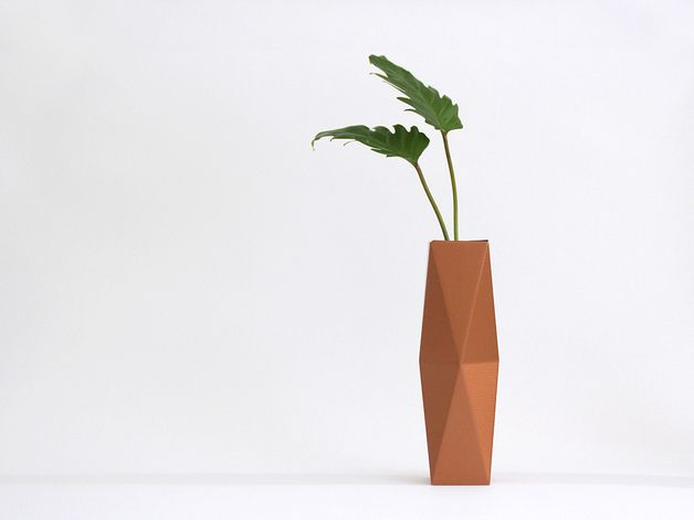 vase SNUG.VASE high / copper from SNUG.STUDIO by DaWanda.com