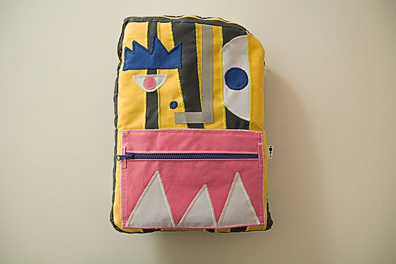Backpack DOMINIK for 15'' laptop/MacBook by zoo52 on Etsy