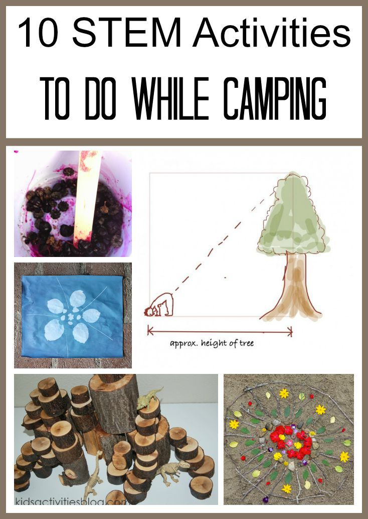 17 best images about going on a bear hunt on pinterest for Outdoor crafts for camping