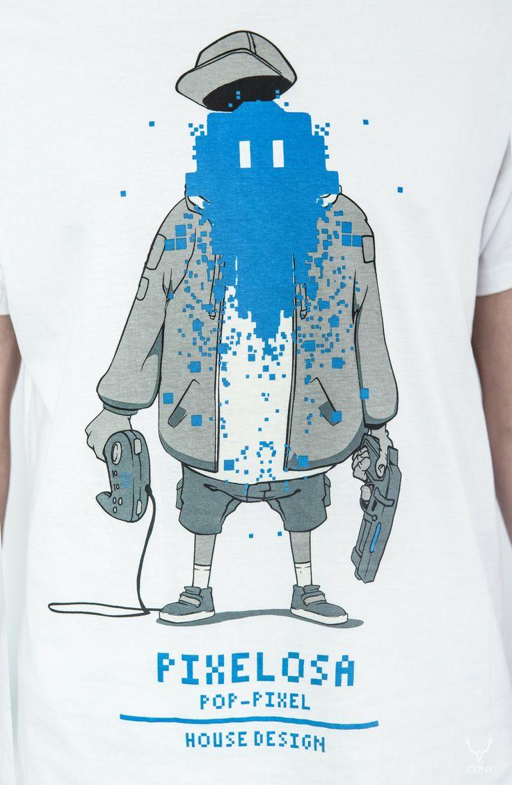 pms series - men's fashion - t-shirt pixelosa House