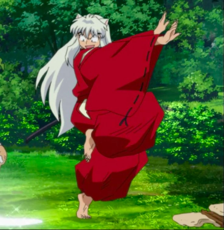 Inu Yasha | Seriously, nothing can scare this... half man!