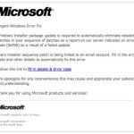 Detectan mail apócrifo con supuesta mala actualización de Microsoft phishing - http://www.cleardata.com.ar/internet/detectan-mail-apocrifo-con-supuesta-mala-actualizacion-de-microsoft-phishing.html