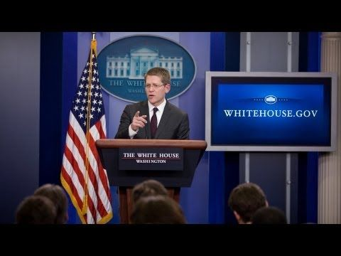 White House Press Briefings are conducted most weekdays from the James S. Brady Press Briefing Room in the West Wing.