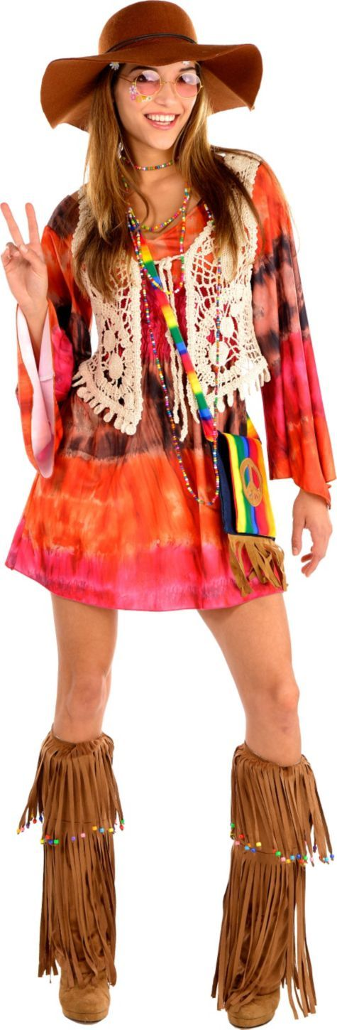 Hippie Chic Costume ($64.99) - Party City ONLINE