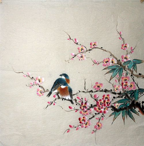 Chinese Painting: Birds - Chinese Painting CNAG235372 - Artisoo.com