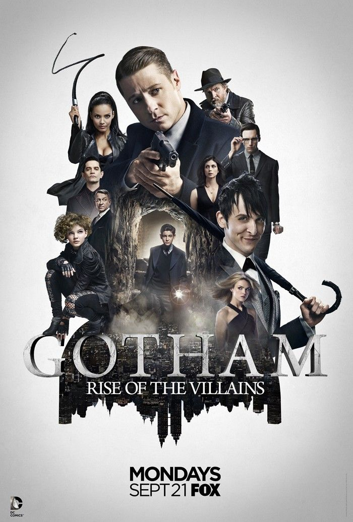Gotham Season 2: Rise of the Villains.  This show has really hit its straps. The police force straddles a dangerous line as the baddies grow and grow. Azrael, Hugo Strange, Firefly, Mr Freeze, Riddler, Catwoman, a rejuvenated Fysh Mooney and the B.O.G. Penguin all loom as a force to be reckoned with. The Court of Owls is pulling strings in the background. Gorgeous Barbara Gordon is looney. The babes are hot. What a show!!!!
