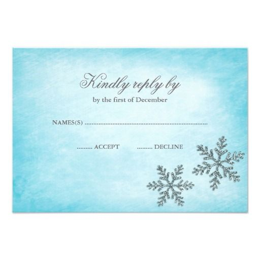 276 best images about winter snowflake wedding invitations on, Wedding invitations