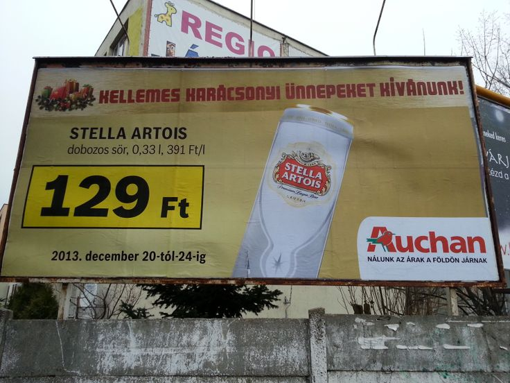 Beer price, 0,4€ in a grocery