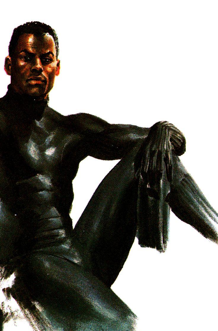 T'Chala//Black Panther by Alex Ross