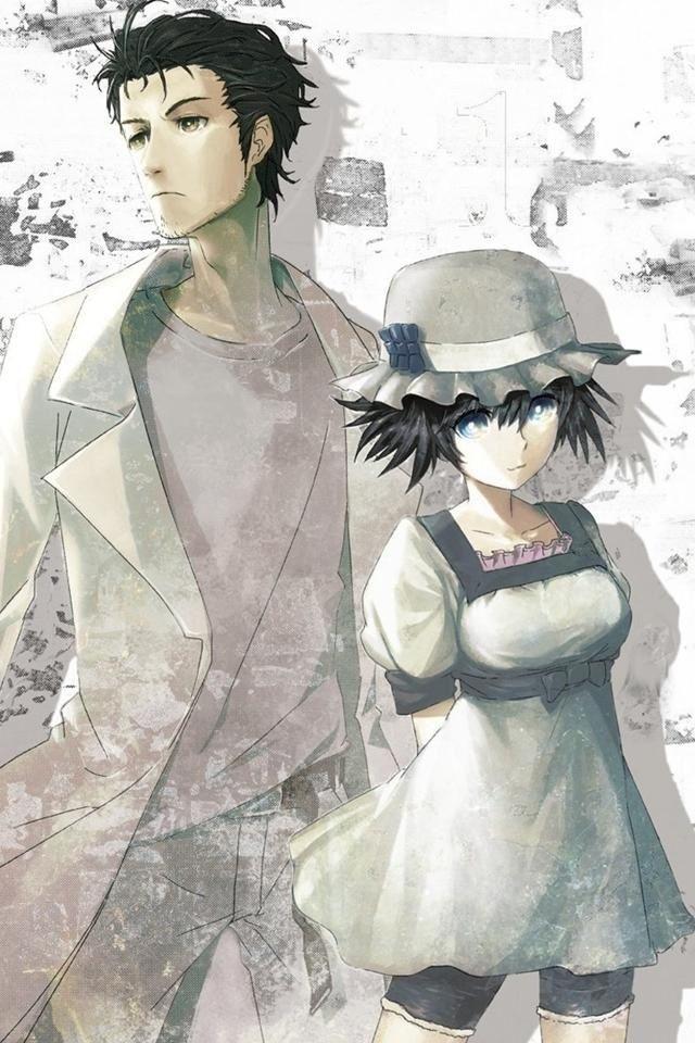 Steins;Gate, Okabe & Shiina Anime Pinterest Gates