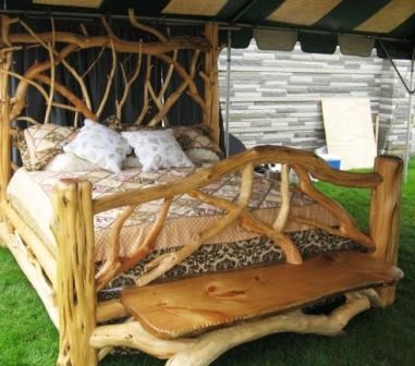 Rustic furniture rustic and beds on pinterest for Camas rusticas