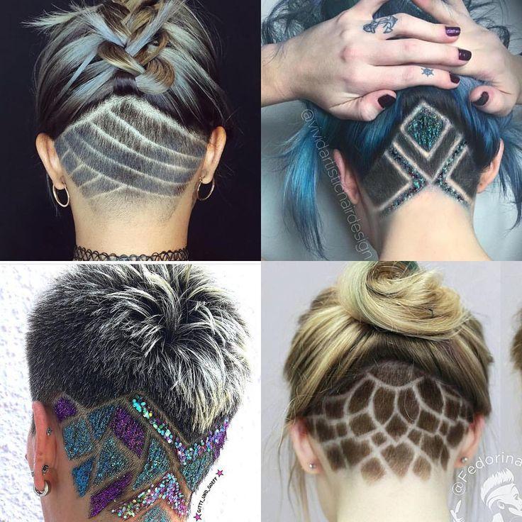 undercut tribal design