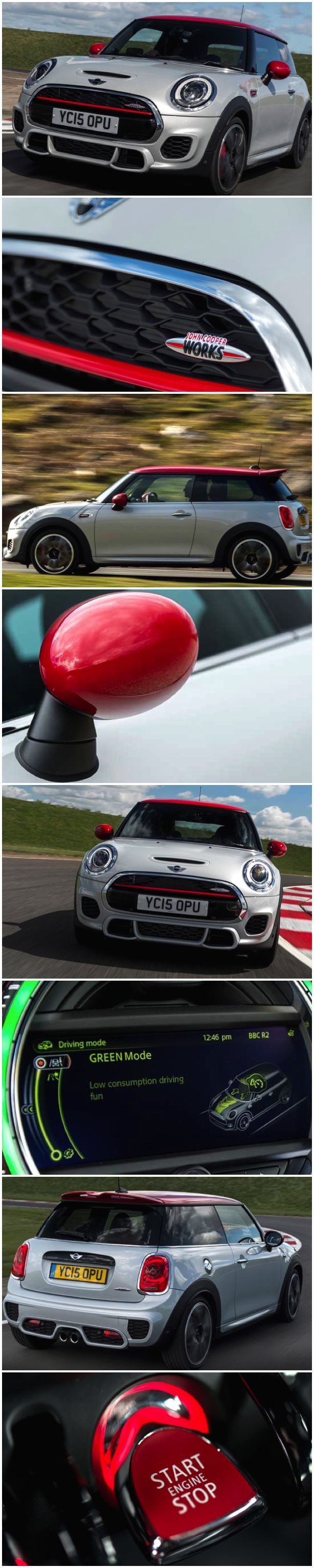 The latest, greatest, NEW MINI John Cooper Works. The Most Powerful production MINI, full stop. Manic, Wild, Deranged. As soon as you hit the throttle the New MINI you are struck with the ballistic performance of this car. Frenetic, Hectic, Frantic, Energetic. The JCW is, …very fast, the ultimate hot-hatch. These words are all in some ways just too harsh, the MINI JCW is all these things, but wrapped up in a complete package. #MINI #JohnCooperWorks #Hothatch #FUN