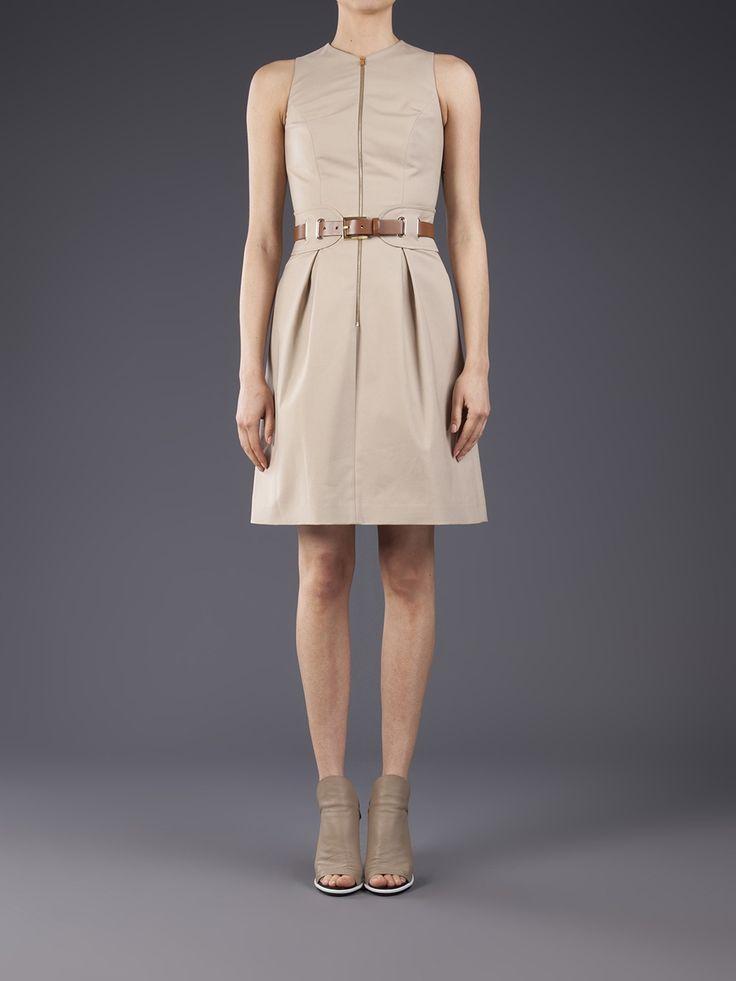 Michael Kors Belted Sleeveless Dress,$39.99,shop at:  #cheapwholesalehub.com