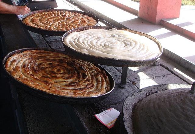 Bosnia & Herzegovina: Burek - traditional Bosnian food.   Flickr ...