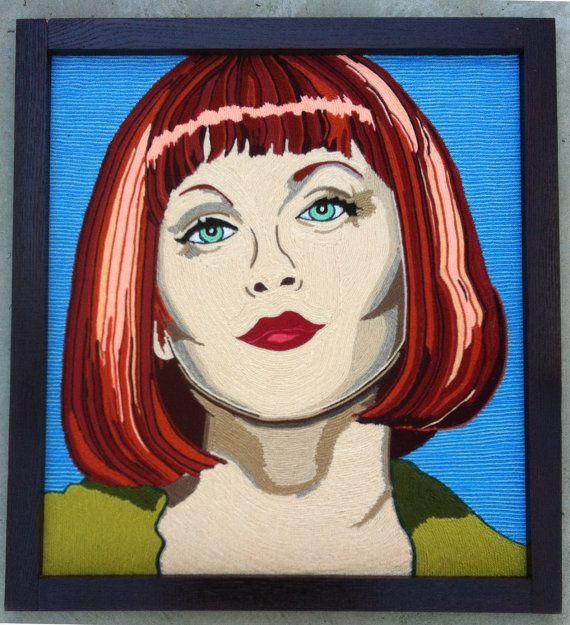Maude Lebowski by BrandyLynnAndPaul on Etsy, $300.00