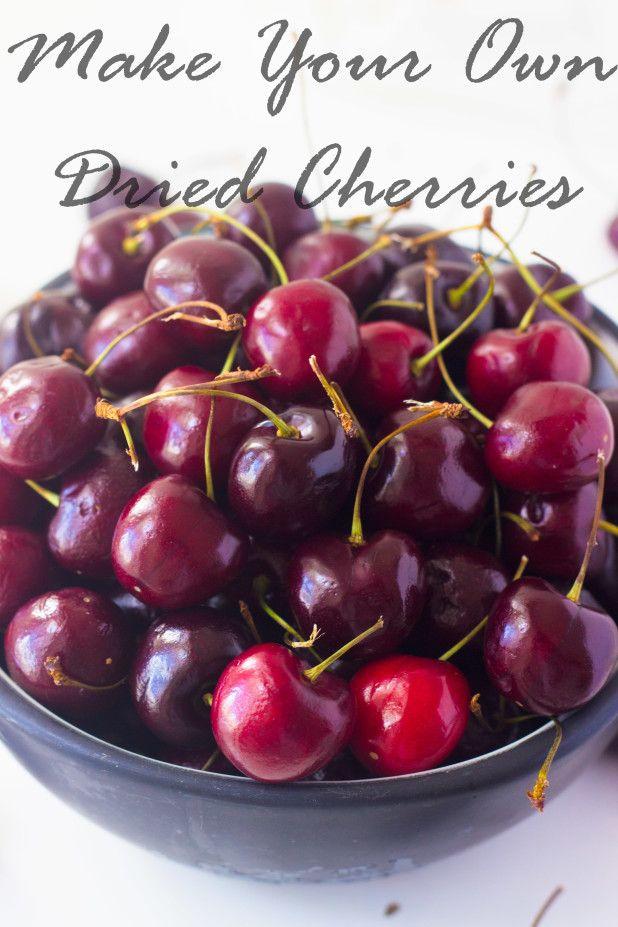 How to Make: Dried Cherries
