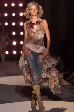 hart and sole chrome hearts Roberto Cavalli Spring 2002 Ready-to-Wear - Collection - Gallery - Style.com