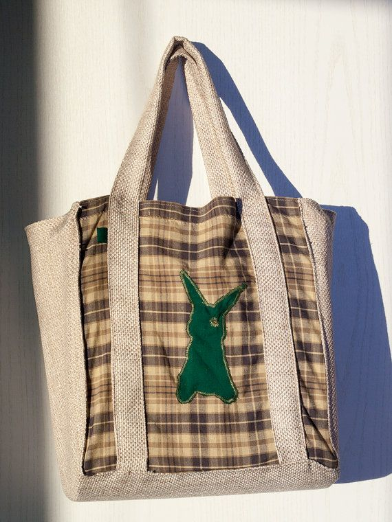 Practical #Shopping, #Tote, #Beach bag by Kuriosart