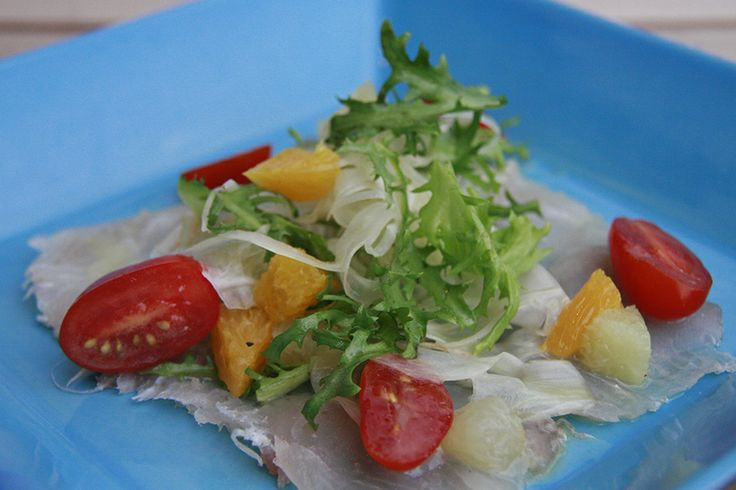 As promised yesterday, here is our Wednesday's recipe about Cured mackerel fillet, citrus & fennel salad, grapefruit emulsion from our chef: http://on.fb.me/1bVRVEI #pregobali