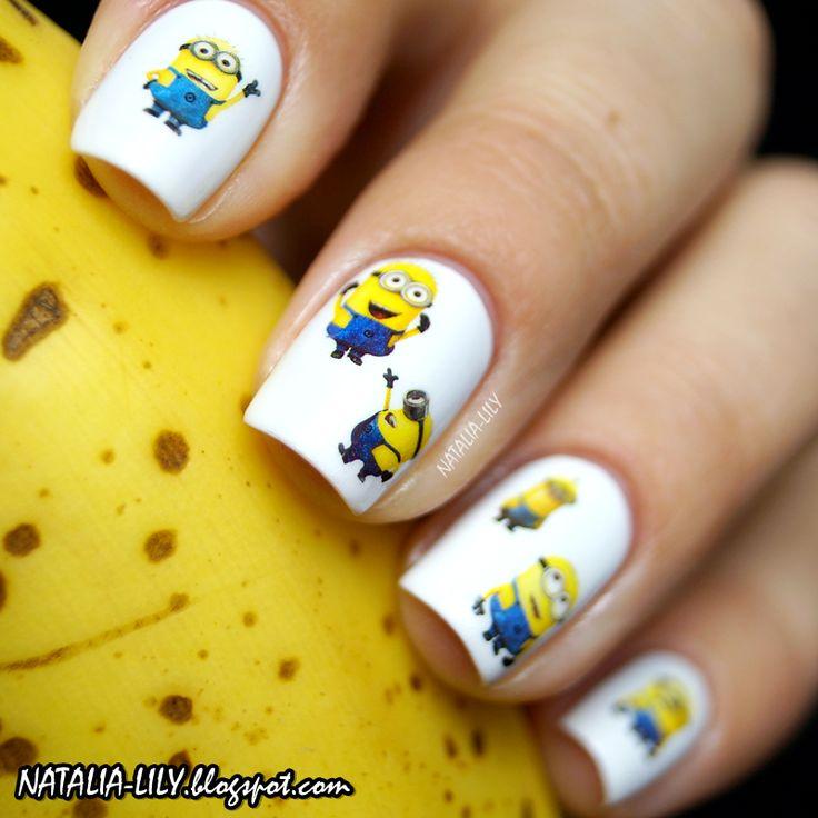 Minionki paznokcie Minions Nails