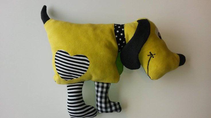 Tutorial Kuschelkissen / Kissen Tier Hund