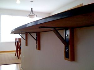 1000 images about island supports on pinterest islands How to support granite overhang